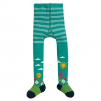 Frugi Flower Garden Little Norah Tights