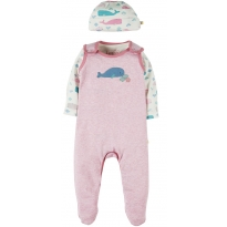 Frugi Whale Giggling Gift Set