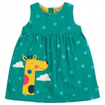 Frugi Giraffe Lily Cord Dress
