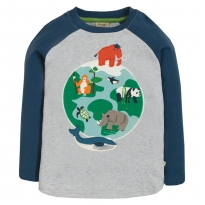 Frugi Globe Alfie Applique Top