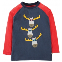 Frugi Moose Harry Printed Top