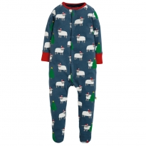 Frugi Hide and Sheep Lovely Babygrow