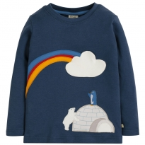 Frugi Igloo Adventure Applique Top