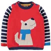 Frugi Dog Jack Knitted Jumper