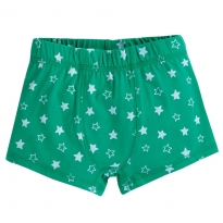 Frugi Jade Star Sean Printed Boxer Trunks