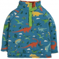 Frugi Jurassic Lands Snuggle Fleece