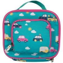 Frugi Rainbow Roads Pack A Snack Lunch Bag
