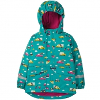 Frugi Rainbow Roads Puddle Buster Coat
