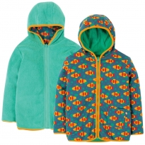 Frugi Koi Joy Reversible Snuggle Jacket