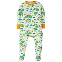 Frugi Land Of The Rising Sun Lovely Babygrow