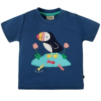 Frugi Puffin Little Creature Applique Top