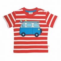 Frugi Campervan Little Fal Applique T-shirt