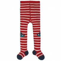 Frugi Boats Little Fun Knee Tights