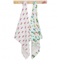 Frugi Vehicle Lovely Muslin 2 Pack