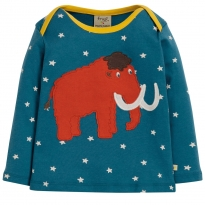 Frugi Mammoth Bobby Applique Top