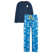 Frugi Men's Polar Bear Comet Pyjamas