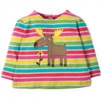 Frugi Moose Connie Applique Top