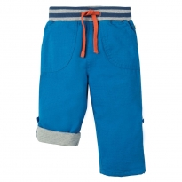 Frugi Blue Little Adventure Roll Up Pants