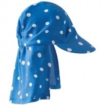 Frugi Blue Polka Dot Legionnaires Swim Hat