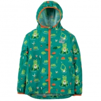 Frugi Frog Pond Puddle Buster Pack-Away Jacket