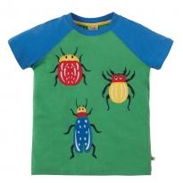 Frugi Beetles Raglan T-Shirt