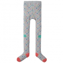 Frugi Raindrops & Clouds Fun Knee Tights