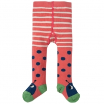 Frugi Ladybird Little Twinkle Toes Tights