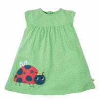 Frugi Little Lola Ladybird Dress