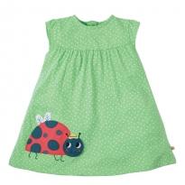 Frugi Little Lola Ladybird Dress