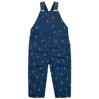 Frugi Little Tom Anchor Dungarees