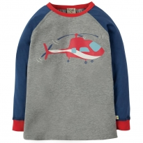 Frugi Helicopter Harry Printed Top
