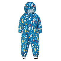 Frugi Paddling Puffins Puddle Buster Suit