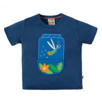 Frugi Firefly Penzance Pocket T-Shirt