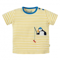 Frugi Puffin Penzance Pocket T-Shirt