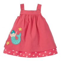 Frugi Mermaid Reversible Rosemary Dress