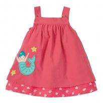 Frugi Mermaid Reversible Rosemary Dress