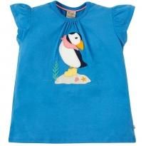 Frugi Puffin Ellie Applique T-Shirt