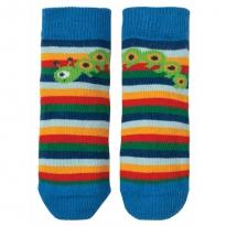 Frugi Rainbow Bug Little Perfect Pair Socks