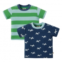 Frugi Take Off Tresco T-Shirts x2
