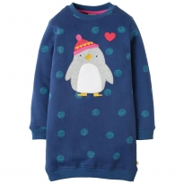 Frugi Penguin Eloise Jumper Dress
