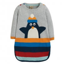 Frugi Penguin Kiri Knitted Dress