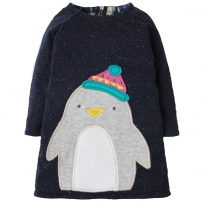 Frugi Penguin Peek A Boo Dress