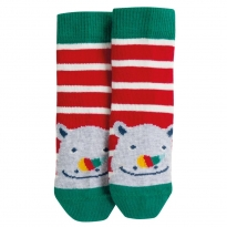 Frugi Rhino Perfect Little Pair Socks