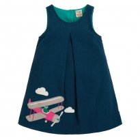 Frugi Pilot Amber Applique Dress