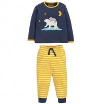 Frugi Polar Bear Stargaze Pyjamas