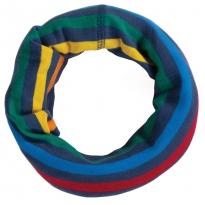 Frugi Rainbow Stripe Cosy Rib Snood