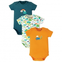 Frugi Rainbow Super Special Body 3-Pack