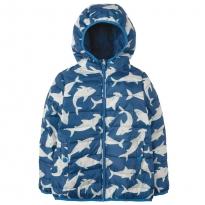 Frugi Scilly Shark School Toasty Trail Jacket