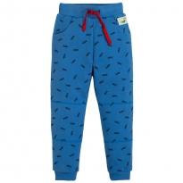 Frugi Blue Shoals Printed Snug Joggers