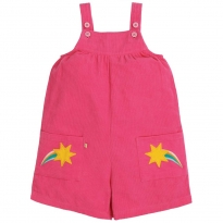 Frugi Shooting Stars Peggy Cord Playsuit
